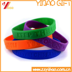 Custom Silicone Bracelet for Promotion Gifts pictures & photos