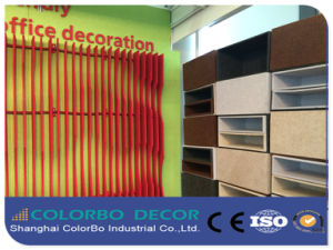 Good Sound Absorption Polyester Fiber Acoustic Board Decorative Panels pictures & photos