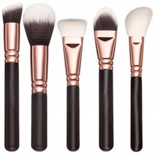 Professional 15 Pieces Elegant Rose Golden Makeup Brush Set pictures & photos