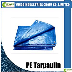 PE Woven Tarp for Covering, Laminated Tarpaulin for Industry Covering, PE Textile Fabric pictures & photos