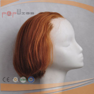 Full Lace Women Short Virgin Hair Lace Front Women Wig pictures & photos