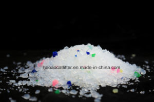 Flower Scent Silica Gel Cat Sand with Odor Control pictures & photos