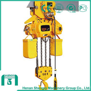 10 Ton Single Speed Electric Chain Hoist Made in China pictures & photos