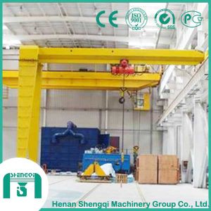 Single Girder and Double Girder Type Semi Gantry Crane pictures & photos