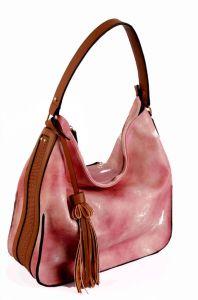 2016 New Designer Pink Color Tote Bag Lady Bags Leather Handbag