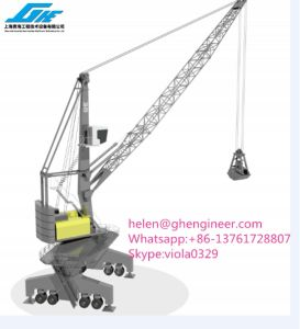 Lattice Boom Grab Bucket Heavy Lifting Crane pictures & photos