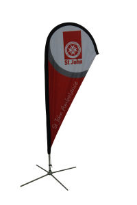 Advertising Beach Flying Banner for Outdoor Disply pictures & photos