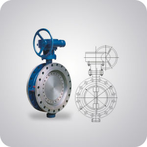 Double Offset Butterfly Valve China Supplier pictures & photos