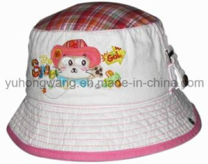 Fashion Cotton Kid′s Baseball Bucket Cap/Hat, Floppy Hat pictures & photos