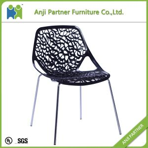 2016 China Simple Design Hollow White Dining Room Chair (Antonia) pictures & photos