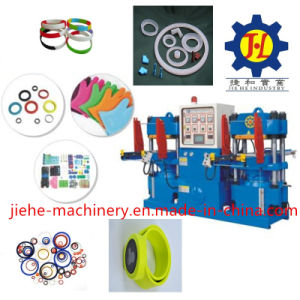 High Performance New Design Platen Rail Rubber Machine pictures & photos