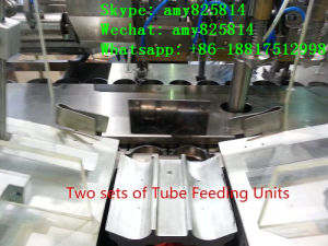 Aluminum Tube Filling and Sealing Machine 80PCS/Min pictures & photos