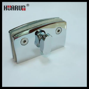 Bedroom Glass to Glass Solid Brass Locks With Mirror Finish (HR1199B) pictures & photos