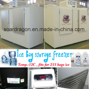 Ice Bag Storage Freezer of Cold Wall System pictures & photos