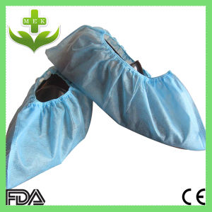 PP Surgical Protective Non Woven Shoe Cover pictures & photos