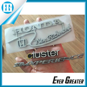 3D Chrome Plastic Badges Emblems OEM pictures & photos
