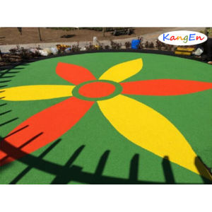 Park with EPDM Rubber Granules pictures & photos