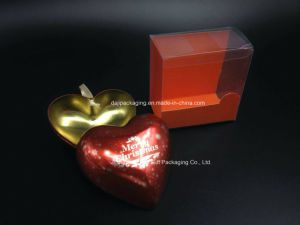 Heart-Shaped Metal Tin Packaging Box (H001-V5) pictures & photos