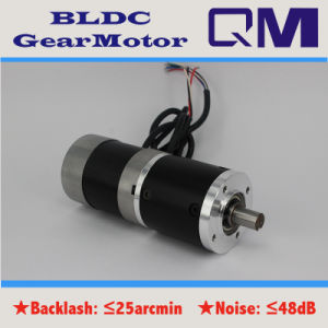 NEMA23 100W Brushless Motor BLDC with Gearbox Ratio 1: 50