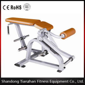 Tz-5056 Plate Loaded Prone Leg Curl Machine / Gym Equipment pictures & photos