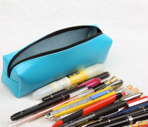 PU Leather Pencil Holder for School Kids (s2006) pictures & photos