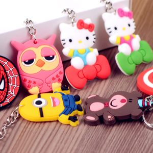 Customize Promotional Gift Cheap Silicone Keyring From Manufacture pictures & photos