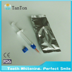 Dual Barrel Syringe Teeth Whitening Gel