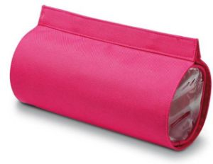 Wholesale Lady New Pink Round Makeup Bag pictures & photos