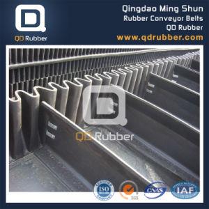 Corrugated Sidewall Conveyor Belt Rubber Belt for Heavy Duty Industry