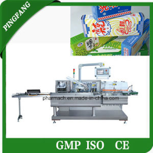 Multifunctional Ice Cream Bar Automatic Cartoning Machine pictures & photos