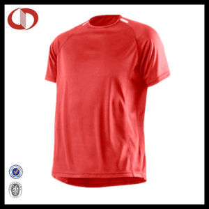 100% Polyester Blank Running Shirt Man pictures & photos