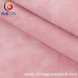 95%Polyester 5%Spandex Suede Fabric for Garment Textile (GLLML047) pictures & photos
