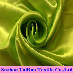 100% Poly Stretch Satin for Lady Evening Dress Fabric pictures & photos