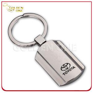 Manufacturer Black Laser Shiny Nickel Metal Key Ring pictures & photos