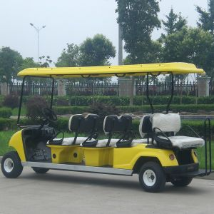 8 Person Zero Emission Electric Vehicle with Ce Certificate Dg-C6+2 pictures & photos