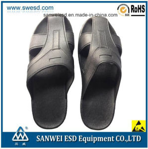 Antistatic ESD Conductive Clean Room PVC Foam Unisex Slipper pictures & photos