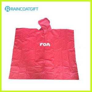 Custom Logo Printed EVA Rain Poncho (RVC0817-01) pictures & photos
