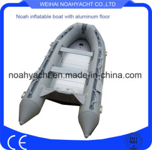 Factory Made Aluminum Floor Inflatable Fishing Boat for Sale pictures & photos