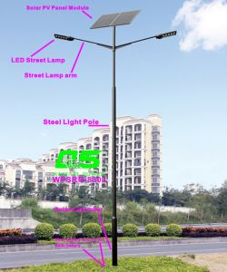 WPSRR-8303 3~15m Municipal Road Hot DIP Galvanized Steet Light Pole style pictures & photos