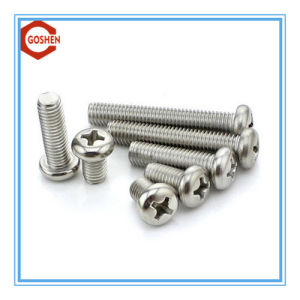 Ss304 Pan Head Screw / Pan Head Phillips Screws pictures & photos