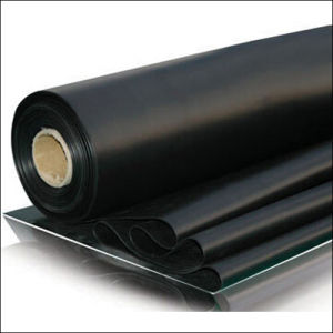 General Use Black Rubber Flooring (Rubber Sheet)
