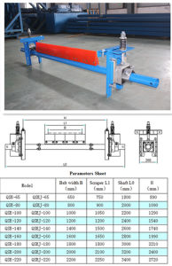 High Quality Secondary Belt Cleaner for Belt Conveyor (QSE-65) pictures & photos