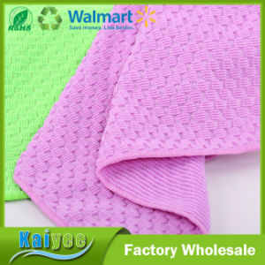 Wholesale Multifunctional Kitchen Square Microfiber Cleaning Cloth pictures & photos