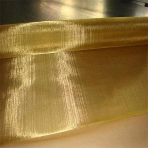 Free Sample 1-30m Length Durable Brass Wire Mesh pictures & photos
