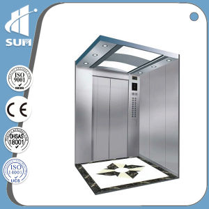 Mirror Stainless Steel Etching with Passenger Elevator with Ce Certificate pictures & photos