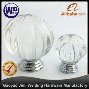 Crystal Furniture Glass Knob Gk-001-S pictures & photos