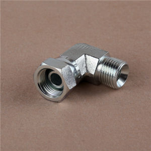 Carbon Steel 90oelbow Bsp Male 60o Seat/Bsp Female 60ocone Fitting pictures & photos