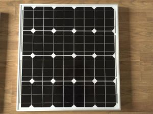 50W Mono Yuanchan Solar Panel with High Quality, Low Price TUV CE ISO Certificate. 125mm Cells