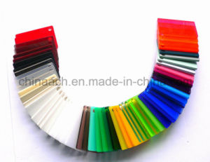 Colorful Plexiglass Acrylic/Clear and Colored Advertising Plastic Sheet
