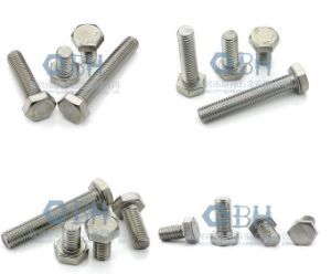 Hex Bolts (DIN 931 M5-M56 Stainles Steel, 304, 316) pictures & photos